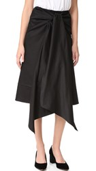 Tome Skirt With Bow Black