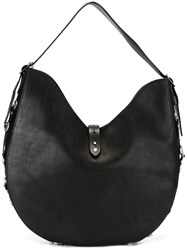 Htc Hollywood Trading Company 'Conchos' Hobo Bag Black
