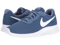 Nike Tanjun Ocean Fog White Women's Running Shoes Blue