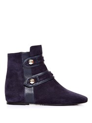Isabel Marant Roddy Military Suede Ankle Boots