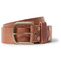 Jean Shop 4Cm Tan Leather Belt Brown