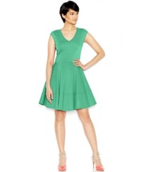 Bar Iii Cap Sleeve Fit And Flare Dress Only At Macy's Coastline