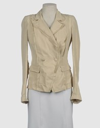 Roberta Scarpa Suits And Jackets Blazers Women Sand