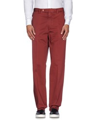 Rotasport Trousers Casual Trousers Men Brick Red