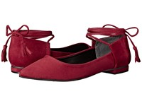 Guess Vida Red Women's Flat Shoes