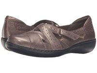Clarks Ashland Spin Q Pewter Women's Shoes