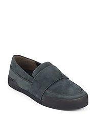 3.1 Phillip Lim Morgan Suede Skate Shoes Anthracite