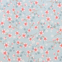Pip Studio Cherry Blossom Wallpaper 313021 Light Blue