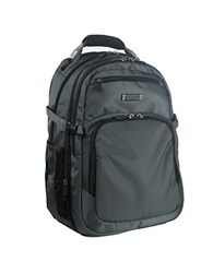 Kenneth Cole Reaction Expandable Double Compartment Backpack Charcoal