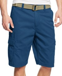 American Rag Belted Relaxed Cargo Shorts Limoges