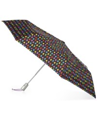 Totes Signature Auto Open Close Medium Umbrella Black Rain