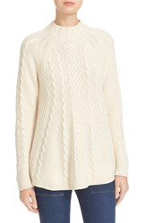 Rebecca Taylor Women's Cable Knit Swing Pullover