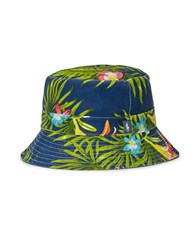 Polo Ralph Lauren Floral Bucket Hat Red