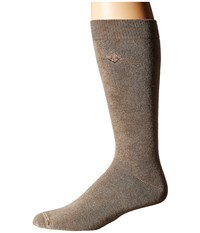 Sperry Solid Salt Wash Full Cushion Crew Brown Men's Crew Cut Socks Shoes