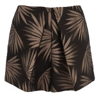 Finders Keepers Women's Sound Resound Shorts Black Palm