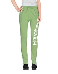 Happiness Trousers Casual Trousers Women Acid Green