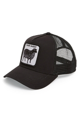 Goorin Bros. 'Animal Farm Naughty Lamb' Trucker Cap Black
