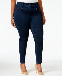 Melissa Mccarthy Seven7 Trendy Plus Size Inkwell Wash Pencil Jeans