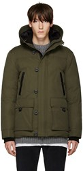 Mackage Green Crawford Lux Down Jacket