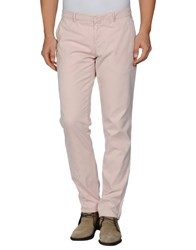 Maison Clochard Trousers Casual Trousers Men Light Pink