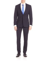 Polo Ralph Lauren Basic Connery Wool Suit Navy
