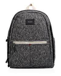 State Bedford Cozy Fabric Backpack Black