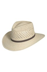 Men's Scala Straw Outback Hat