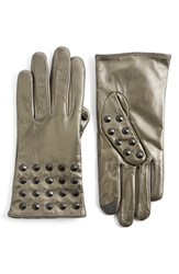 Women's Echo 'Touch Studded' Leather Glove