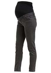 Zalando Essentials Maternity Slim Fit Jeans Grey Dark Gray