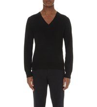 Dries Van Noten Jasies Knitted Jumper Bla