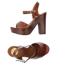 Giorgia And Johns Sandals Brown