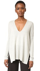 Rails Giselle Cashmere Sweater Heather Grey