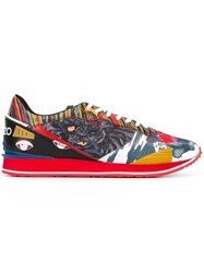 Kenzo 'Crazy Tiger' Sneakers Multicolour