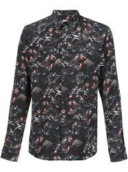 Givenchy Baboon Print Shirt Black