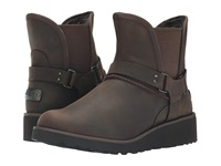 Ugg Glen Chocolate Leather Women's Boots Brown