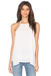 Bishop Young Thea Strappy Tank White