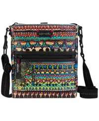 Sakroots Artist Circle Tablet Crossbody Radiant One World