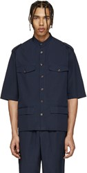 Umit Benan Navy Cuban Military Shirt