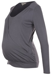 Noppies Ruby Long Sleeved Top Antrazit Anthracite