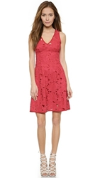 Nanette Lepore Mi Amor Sheath Dress Poppy Red