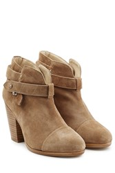 Rag And Bone Rag And Bone Harrow Suede Ankle Boots Camel