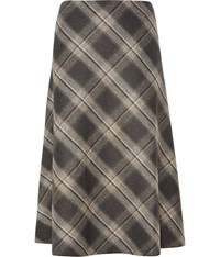 Cc Check Skirt Grey