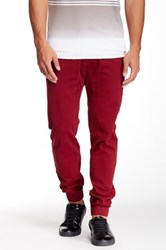 Micros Twill Jogger Red