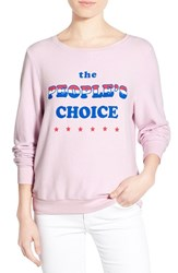Wildfox Couture Women's Wildfox 'Baggy Beach Jumper People's Choice' Pullover