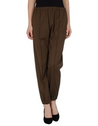 Hache Casual Pants Khaki