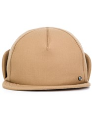 Maison Michel X Mackintosh Cap Brown