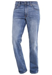 Mustang Tramper Straight Leg Jeans Dark Blue Denim Dark Blue Denim