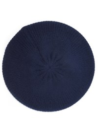 Cash Ca Milled Cashmere Knitted Beret