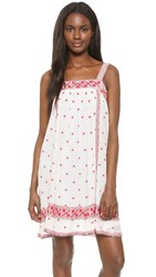 Joie Parillo Dress Porcelain Shades Of Coral Rose