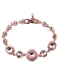 Givenchy Rose Gold And Vintage Rose Swarovski Crystal Flex Bracelet